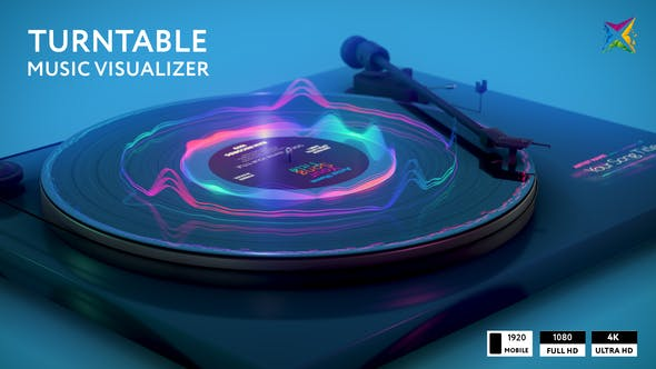 Turntable Music Visualizer