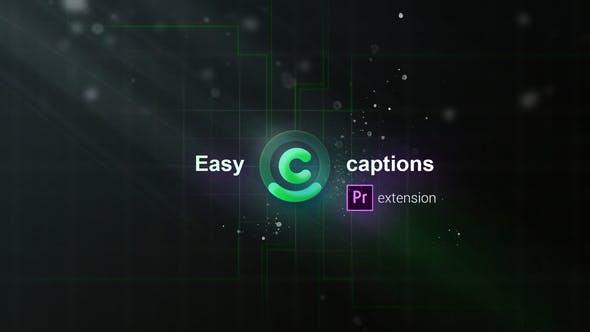 Easy Captions for Premiere Pro Search Edit SRT