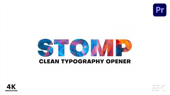Clean Stomp Opener