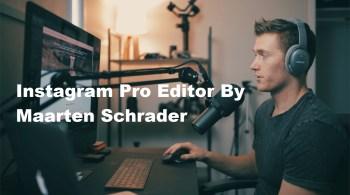 Instagram Pro Editor By Maarten Schrader