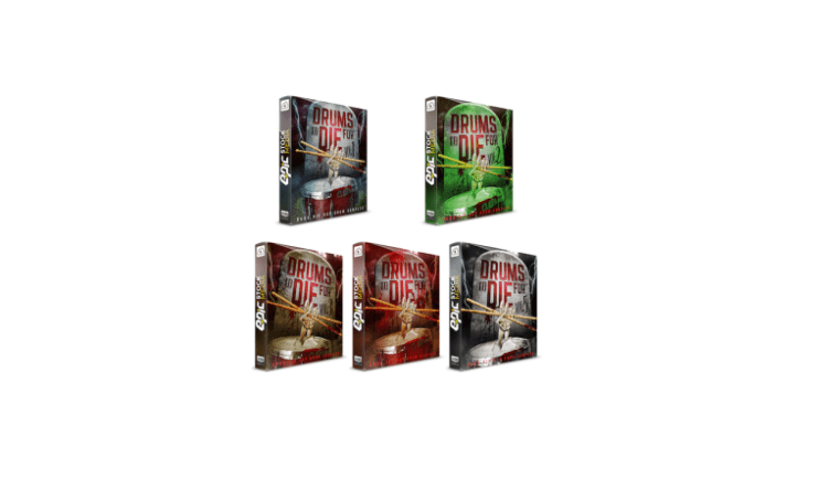 Epic Stock Media – Drums To DieFor 1 - 5