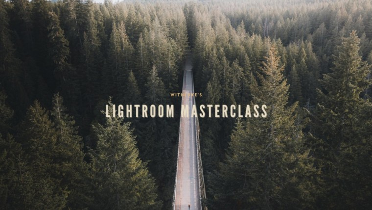 Lightroom Masterclass Editing Workshop By Luke Stackpoole