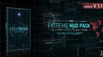 Videohive Extreme HUD Pack