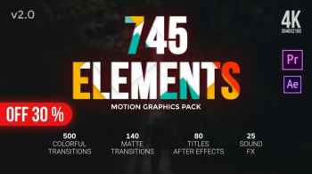 Videohive Transitions Pack 24766267