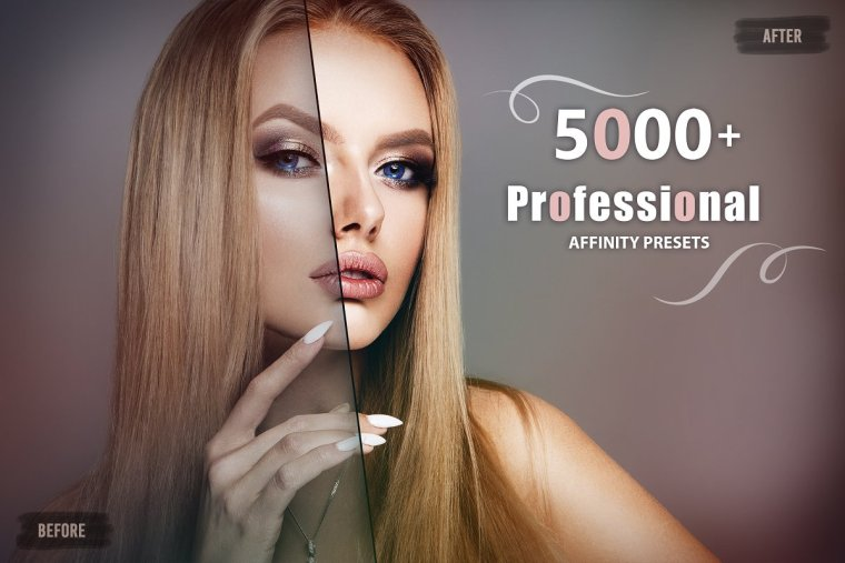 CreativeMarket 5000+ Professional Affinity Luts 4970565
