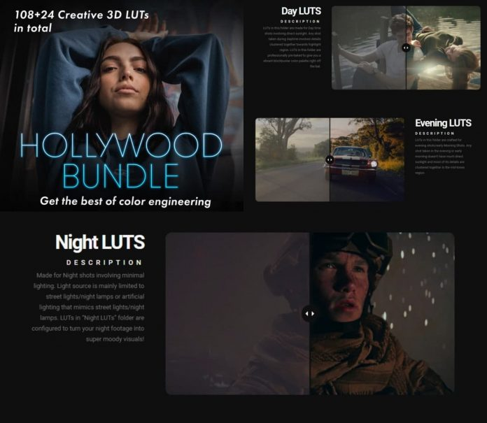 Colorist Factory - Hollywood Bundle Pack