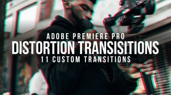 YCIMAGING - Distortion Transition Pack (Premiere Pro)