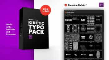 PremiumBuilder Kinetic Typo Pack