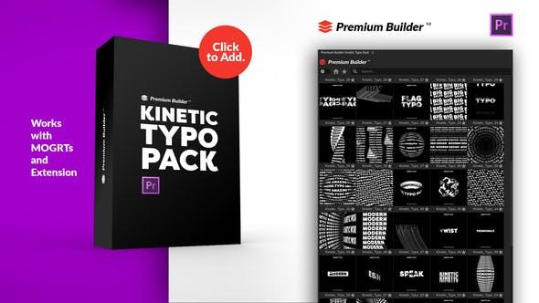 PremiumBuilder Kinetic Typo Pack