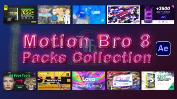 Motion Bro v3.2.1 Packs Collection 2021