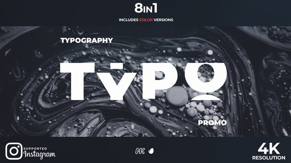New Typography Promo