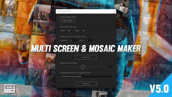 Mosaic & Multiscreen Maker Auto V5