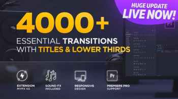 Videohive MYFX 4000+ Essential Transitions v2.0