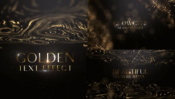 Videohive Abstract Luxury Titles