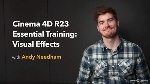 Cinema 4D R23 Essential Training: VFX