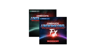 Producer Loops Cinematic Underscore FX Volume 1- 4