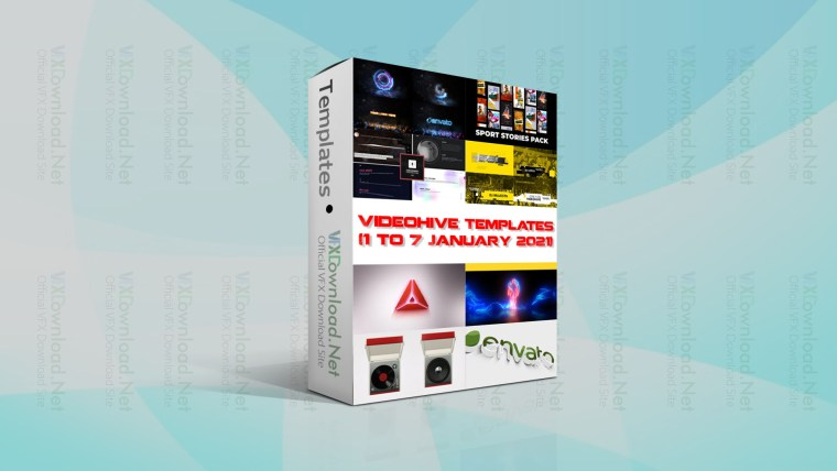 Videohive Templates Collection (1 to 7 January 2021)