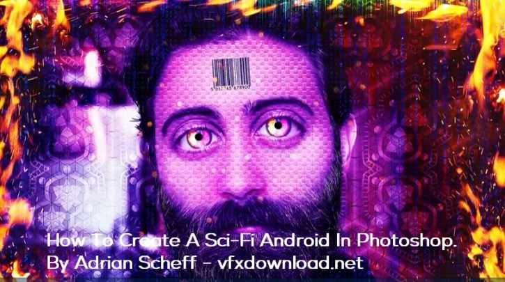 How To Create A Sci-Fi Android In Photoshop. By Adrian Scheff