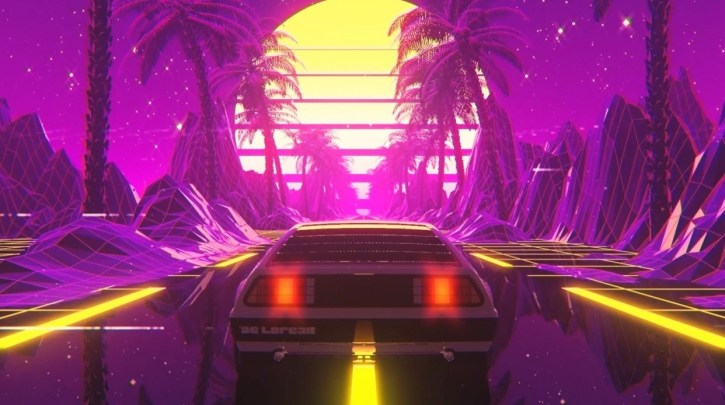 Create A Retro Delorean Loop in Cinema 4D and After Effects By Don Mupasi X Visualdon