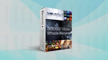 300GB Video Effects Elements By VFXDownload
