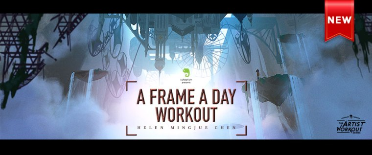 Schoolism - A Frame A Day Workout with Helen Mingjue Chen