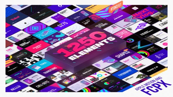 Videohive Graphics Pack - Final Cut Pro X & Apple Motion 26669402