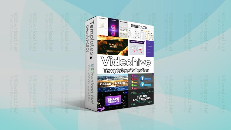 Videohive Templates Collection (1 to 7 March 2021)