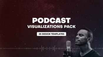 Videohive Podcast Audio Visualization Pack 31013297