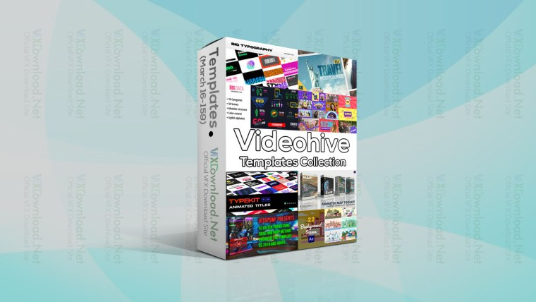 Videohive Templates Collection (16 to 23 March 2021)