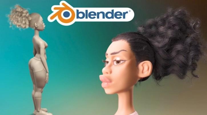 Character Modeling in Blender By Majid K