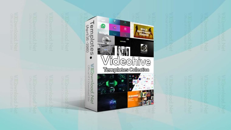 Videohive Templates Collection (16 to 23 April 2021)