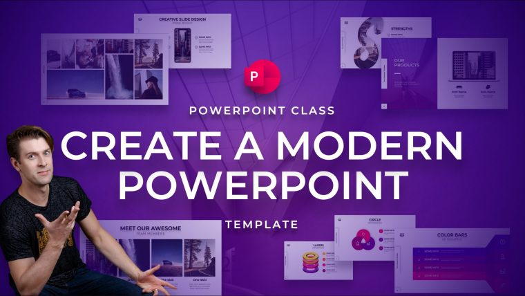 PowerPoint Class: Create a Modern PowerPoint Template By One Skill