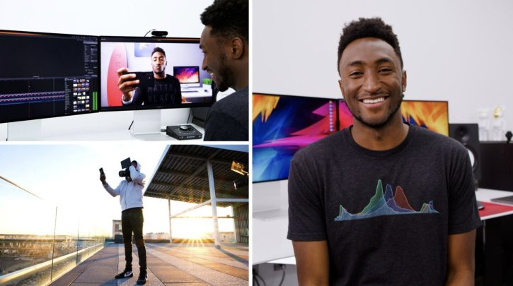 YouTube Success: Script, Shoot & Edit with MKBHD By Marques Brownlee