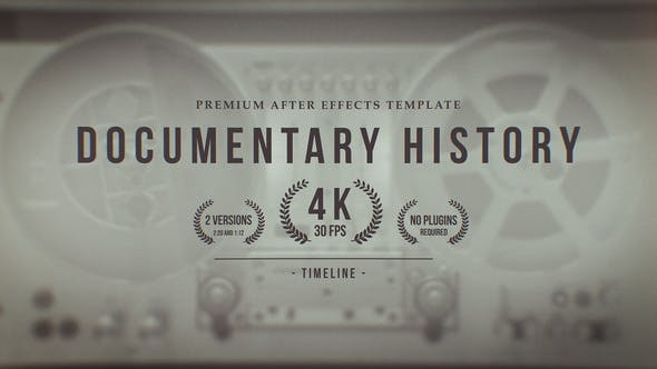 Videohive Documentary History Timeline 25332527