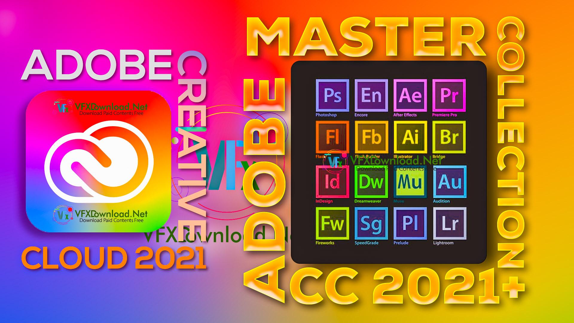 Adobe Master Collection CC 2021 - Adobe Creative Cloud 2021