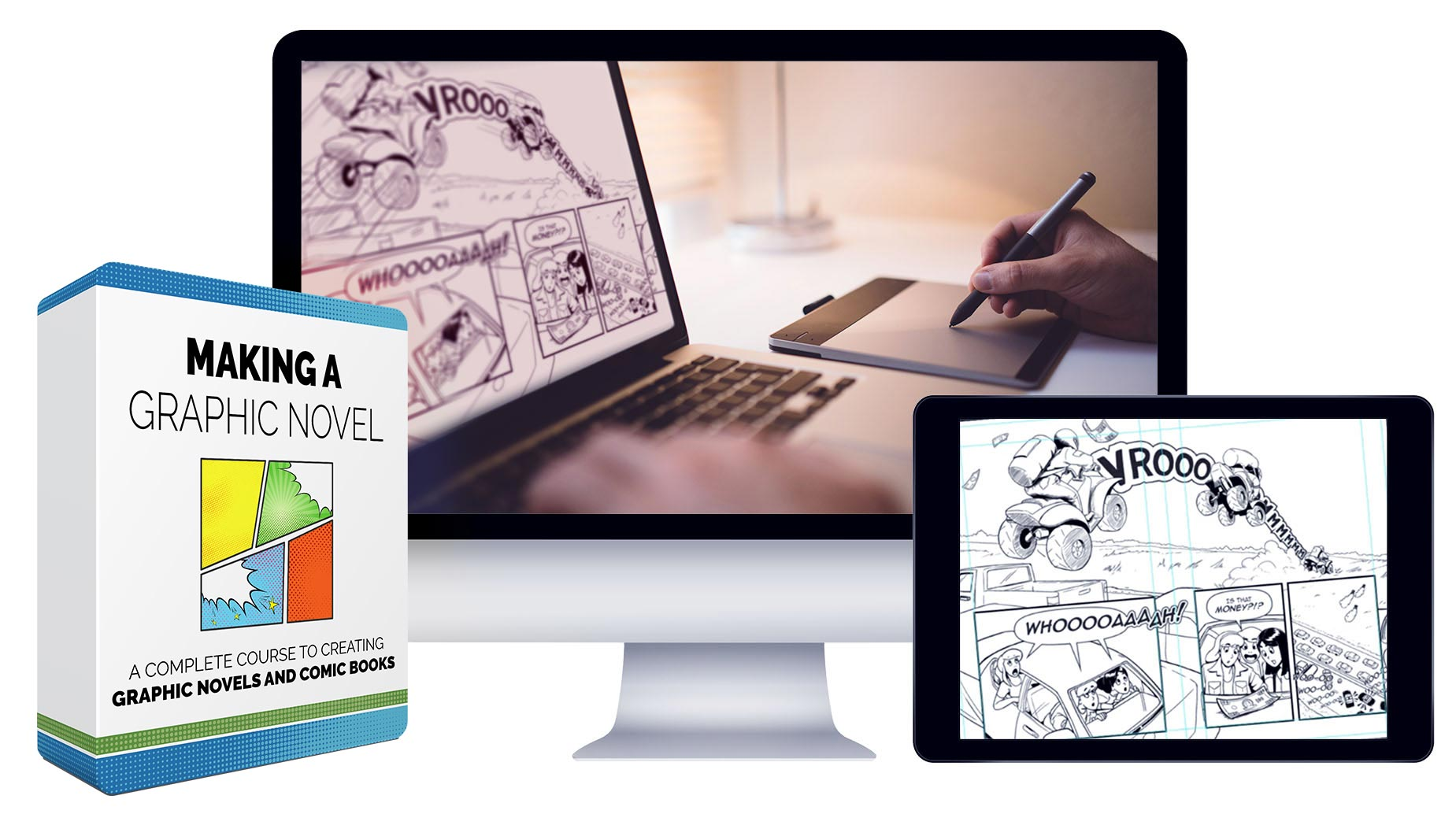 Bloop Animation - Making a Graphic Novel
