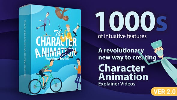 Videohive Character Animation Explainer Toolkit V2.0 23819644