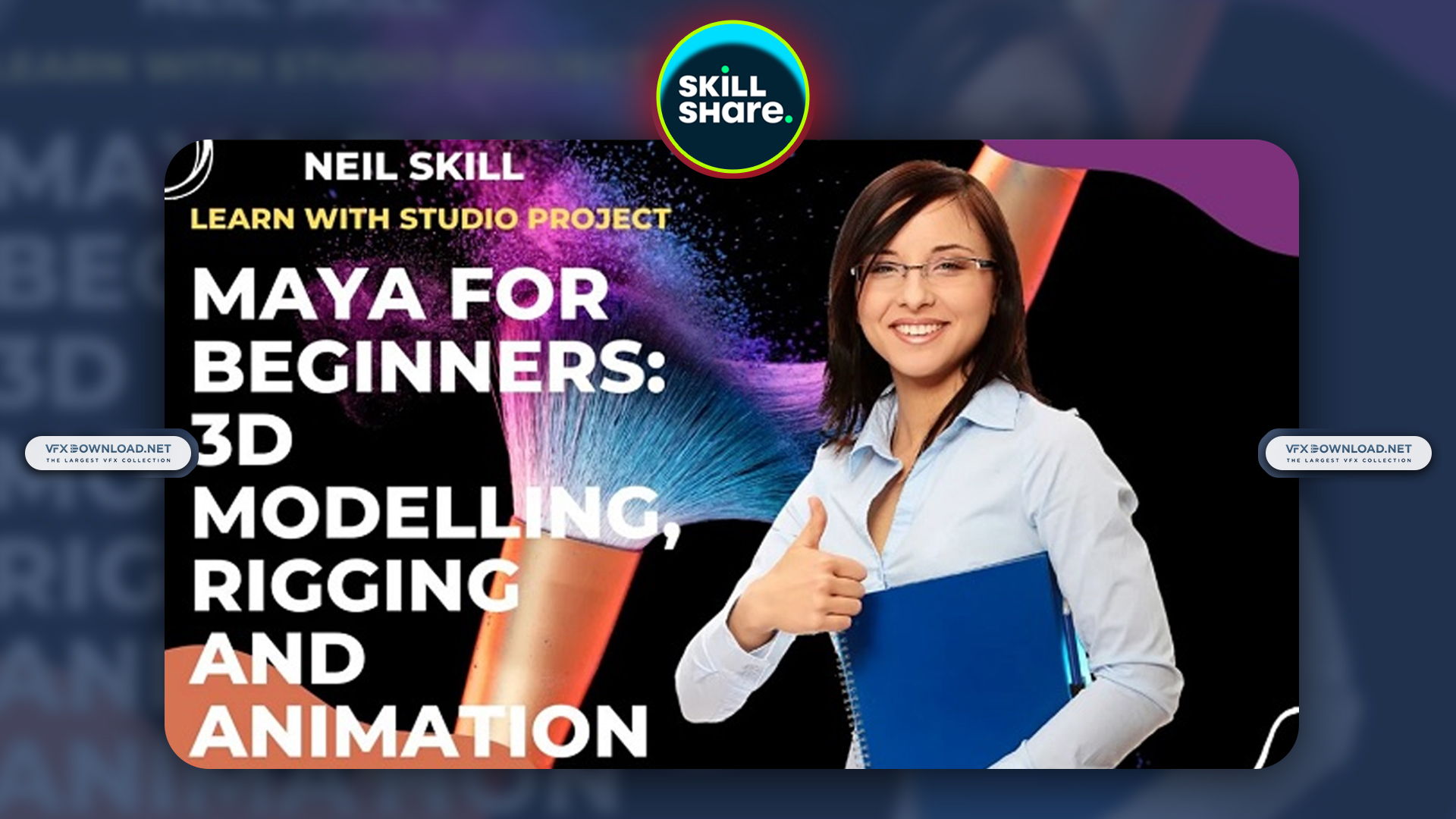 Maya for Beginners 3D Modelling, Rigging, and Animation By Neil Skill