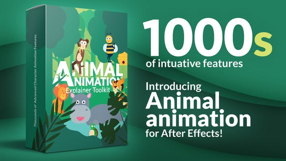 Videohive Animal Character Animation Explainer Toolkit 33034688