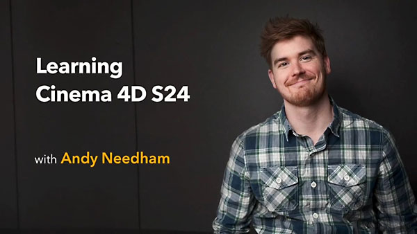 Learning Cinema 4D S24 By Andy Needham