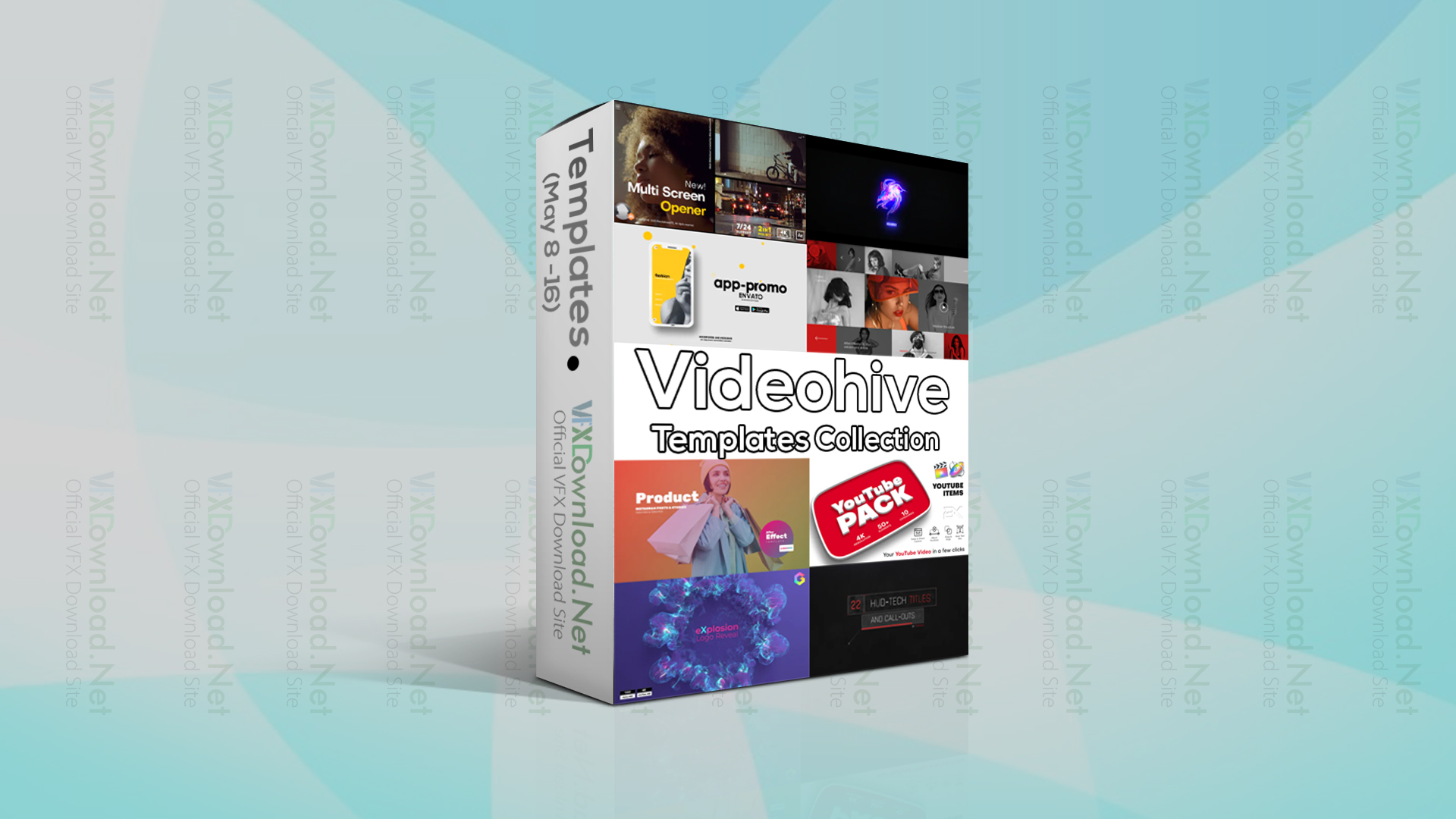Videohive Templates Collection (8 to 15 May 2021)