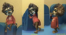 Winnie Werewolf John Chen Vfx Artist And Sculptor