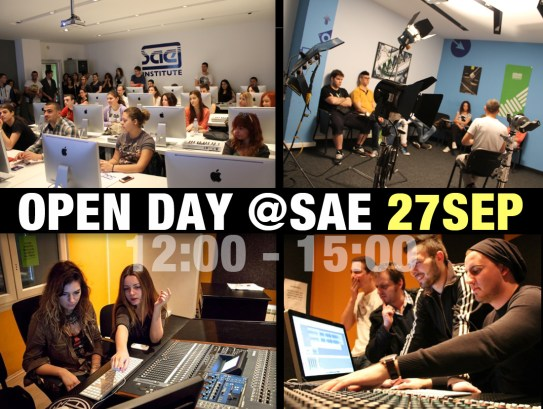 OPEN DAY 27SEP