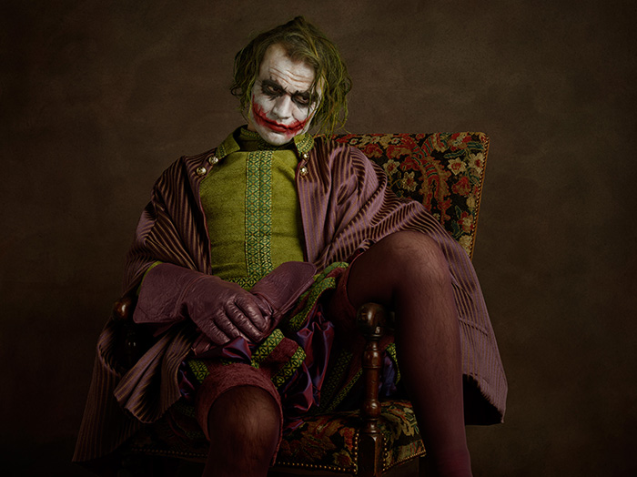 Super flemish Painting, Photography by Sacha Goldberger
