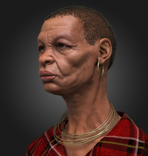 African_bust