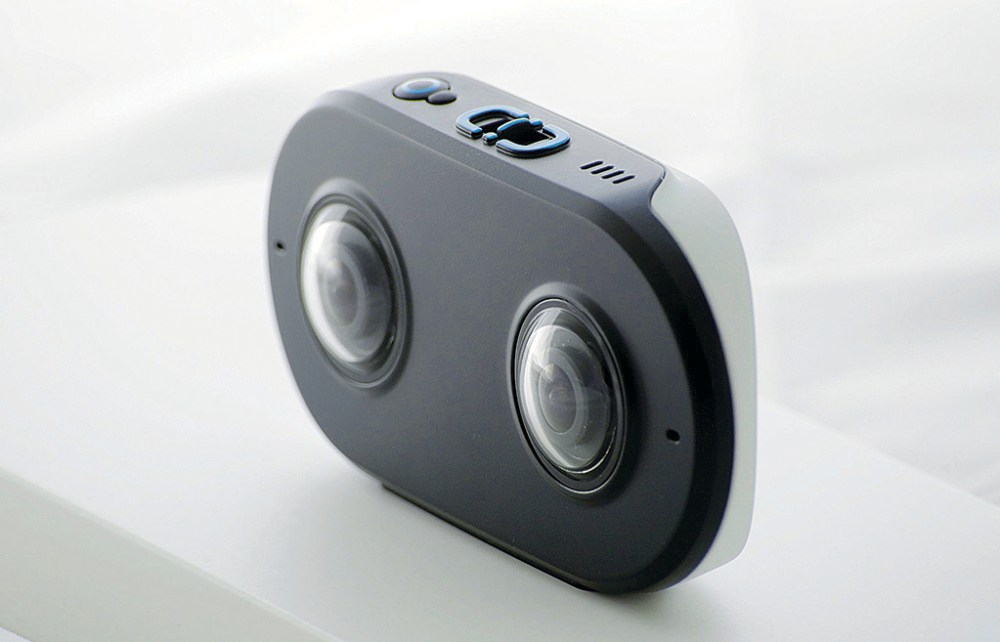 61e0c3b8000 Lucid VR s LucidCam is a 3D 180-degree photo video camera with a  lightweight