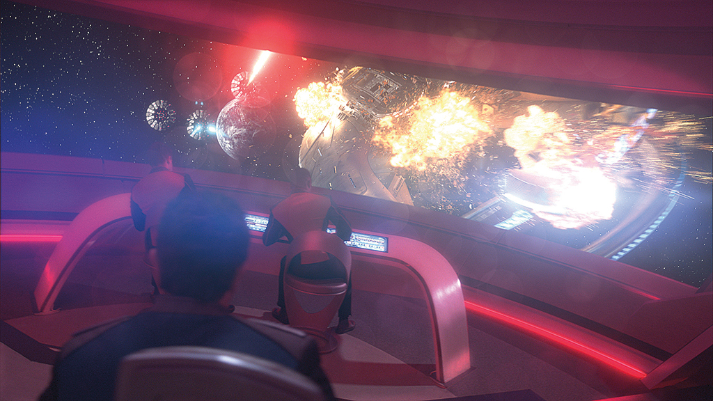 VFX Battle Stations! Space Wars in THE ORVILLE