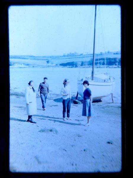mise à l'eau de reder mor 6 en 1963
