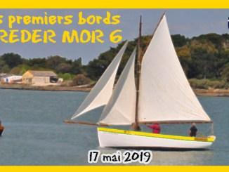 article rm6 PREMIERS BORD DU REDER MOR 6 SUR LA RIVIERE DE PENERF DAMGAN