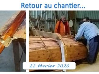 retour au chantier du borénis 22 février article RM6 VGD 2020